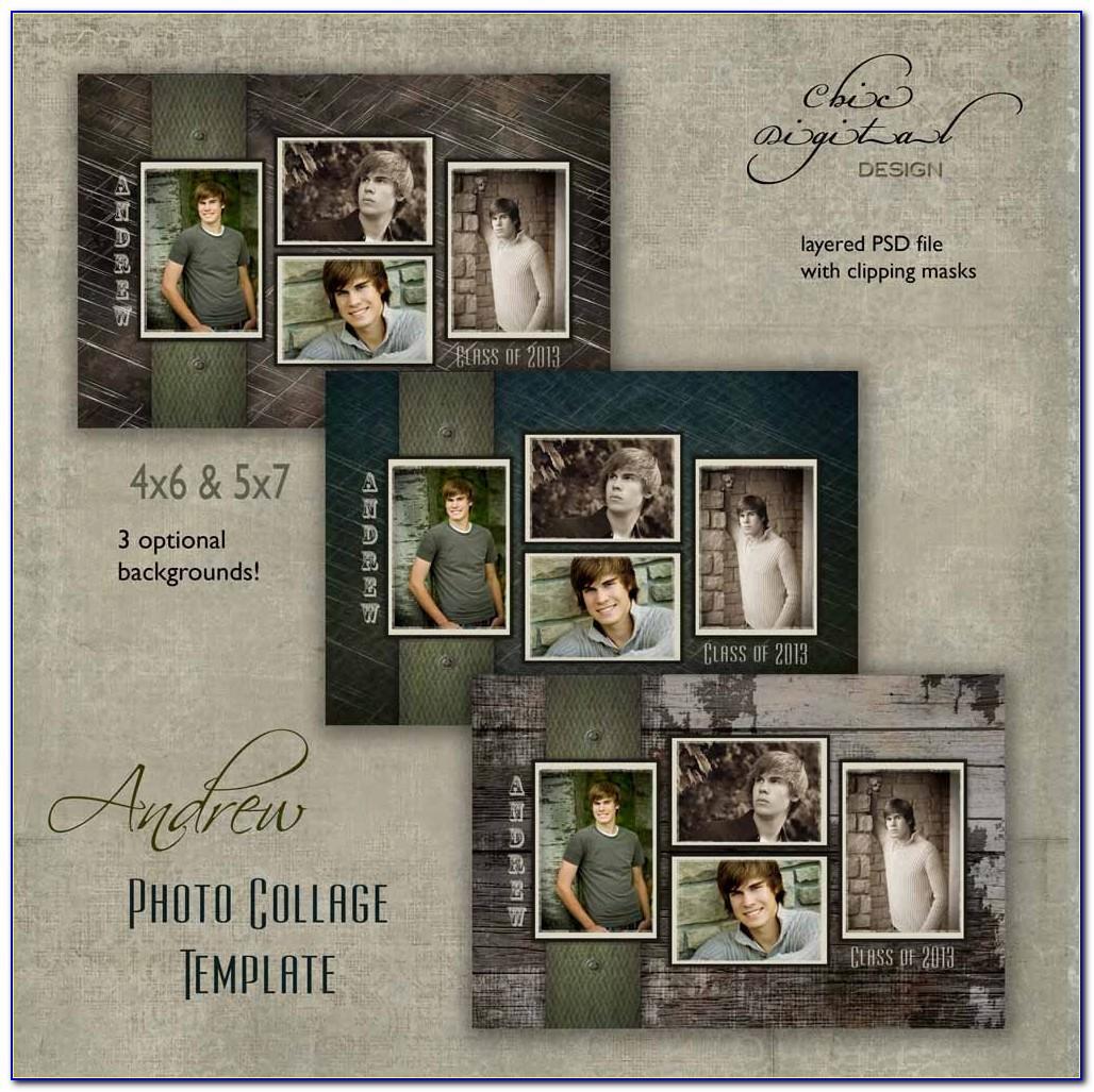 Senior Collage Templates