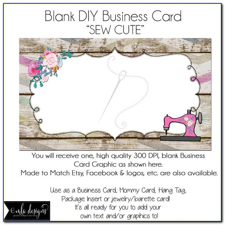 Sewing Business Cards Templates Free