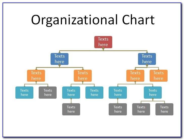 Simple Organizational Chart Template