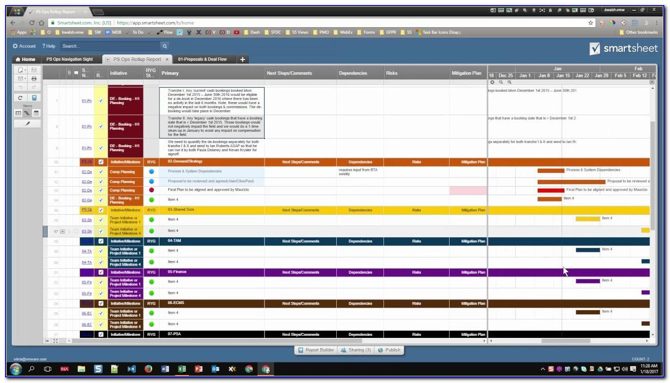 Smartsheet Top Project Management Excel Templates