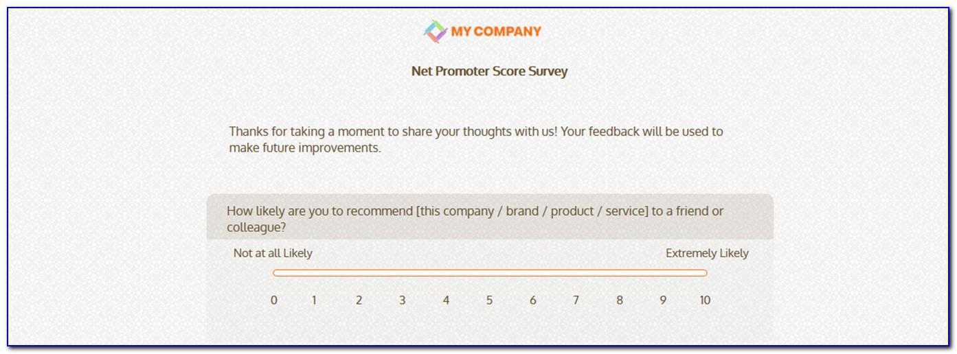Surveymonkey Nps Question