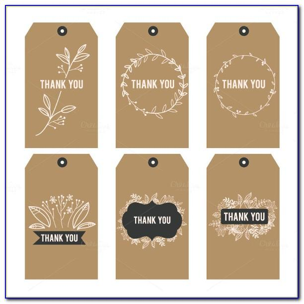 Template For Bridal Shower Favor Tags