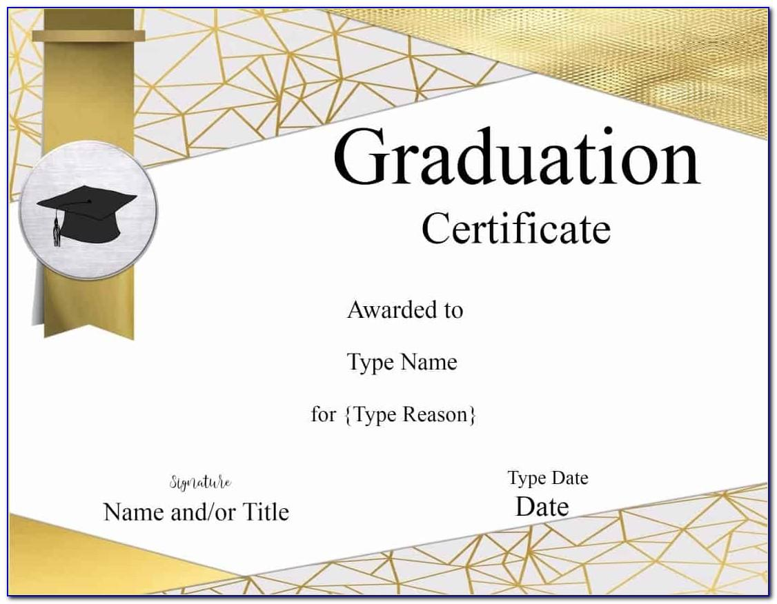Template For Diploma Certificates