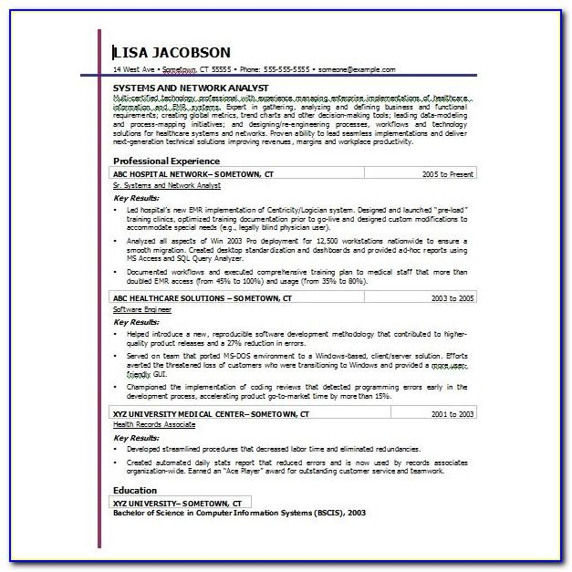 Templates For Resume Microsoft Word