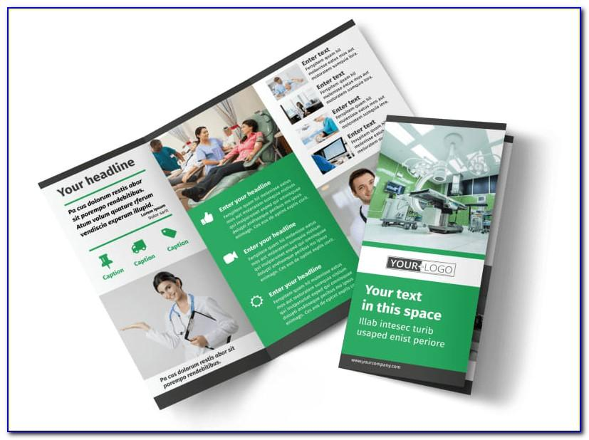 Tri Fold Medical Brochure Template Free