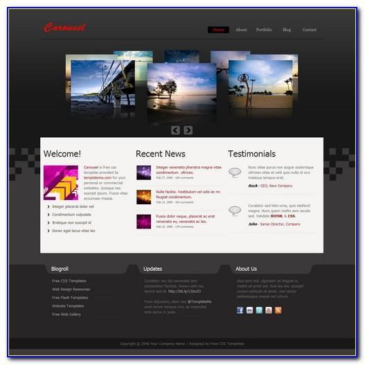Web Template Dreamweaver Free