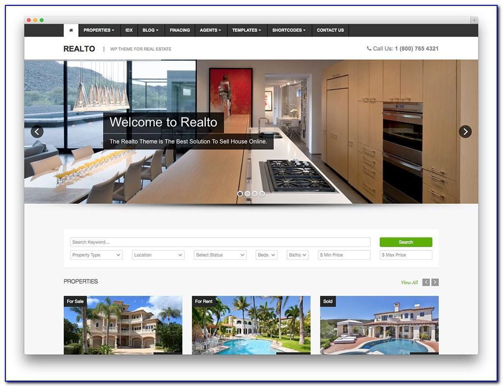 Wordpress Realtor Templates