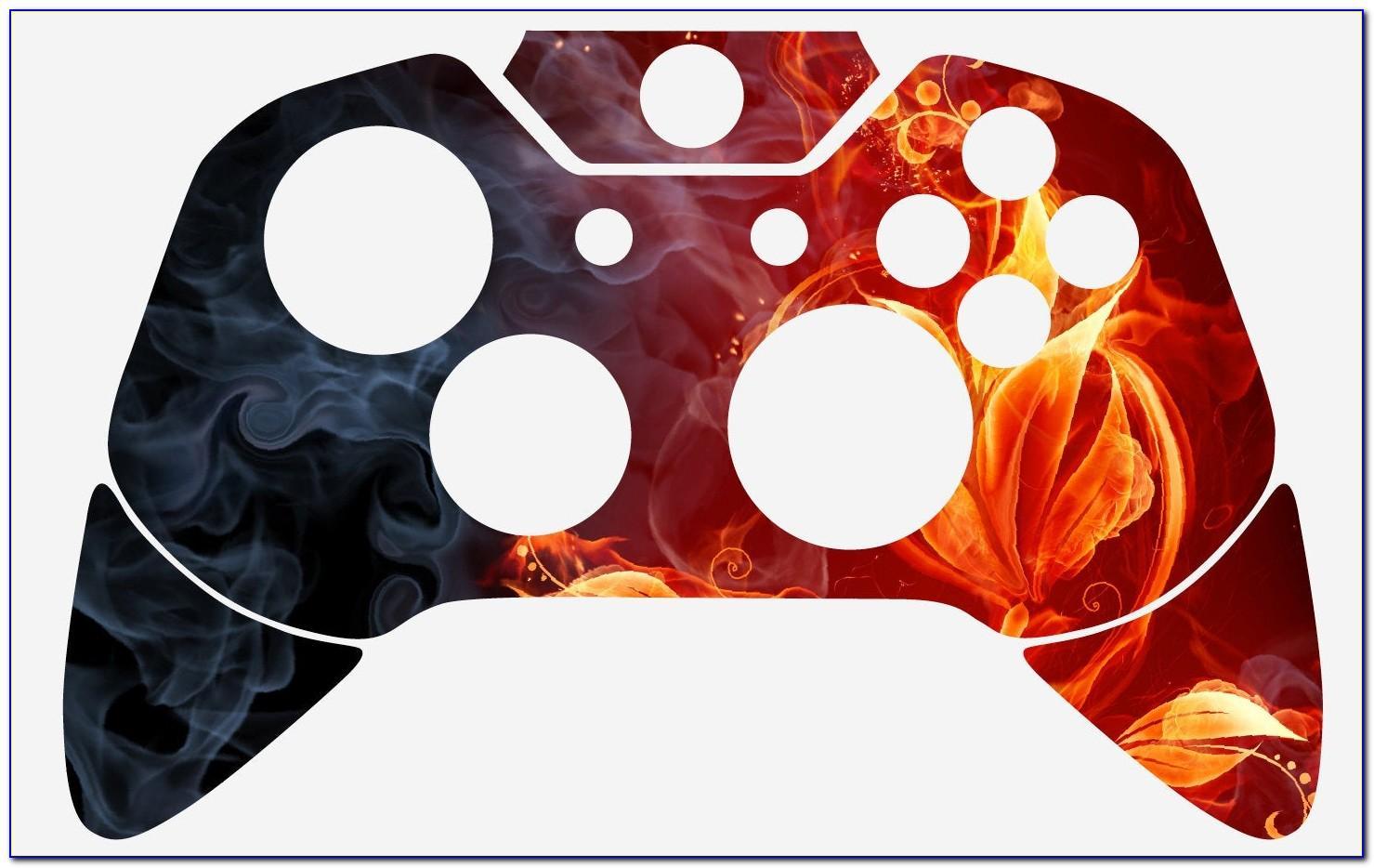 Xbox 360 Controller Skin Template