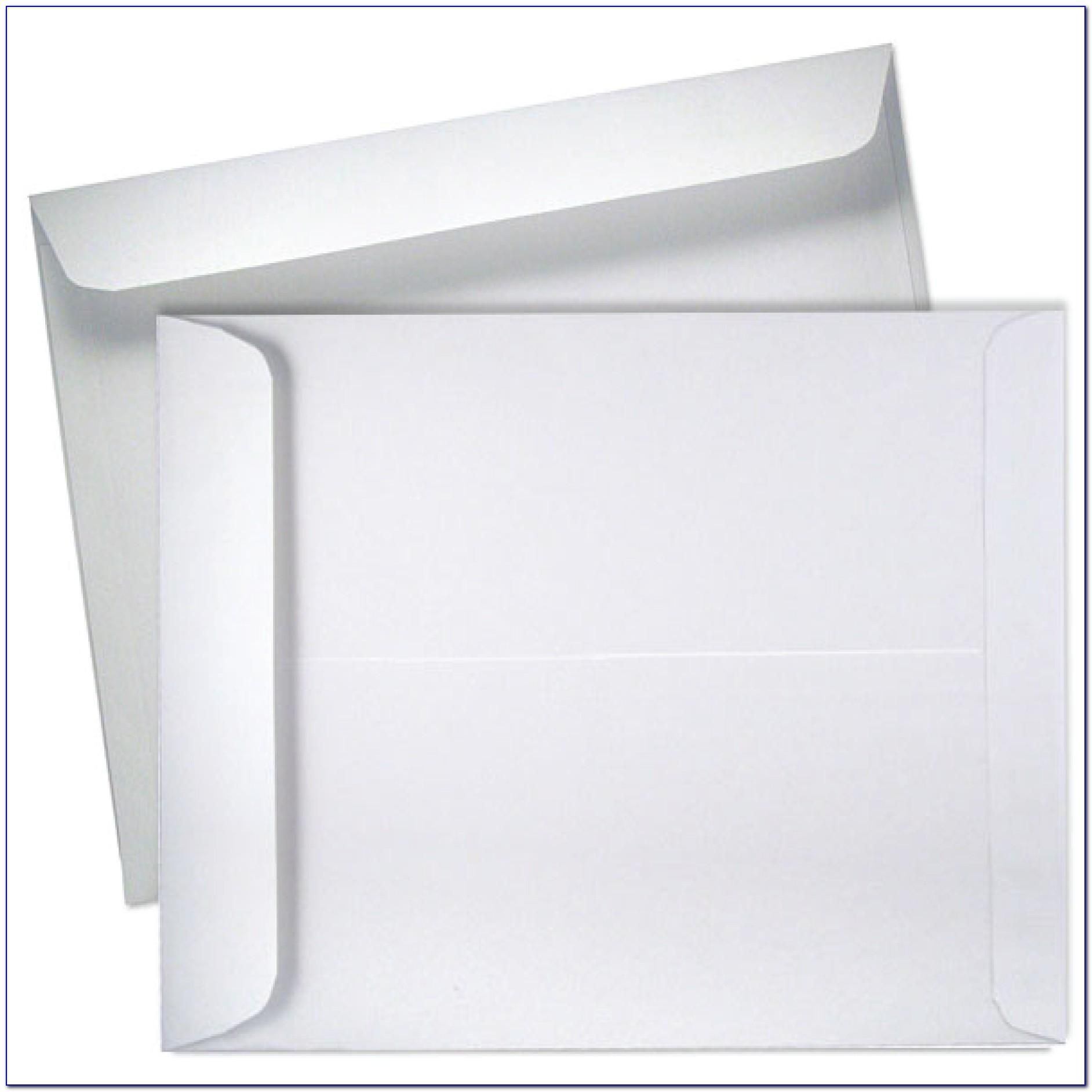 10 X 13 Booklet Envelope Template