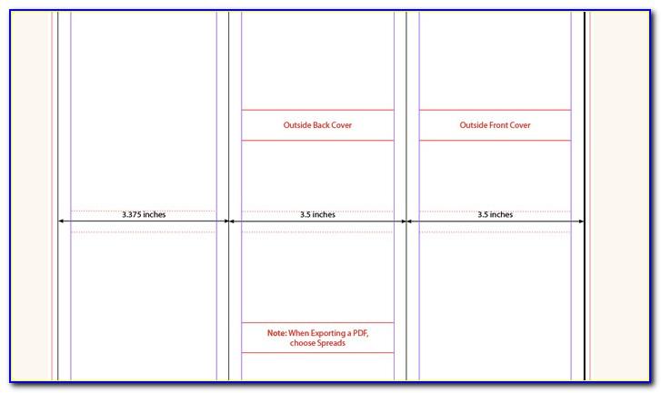 8.5 X 11 Book Template