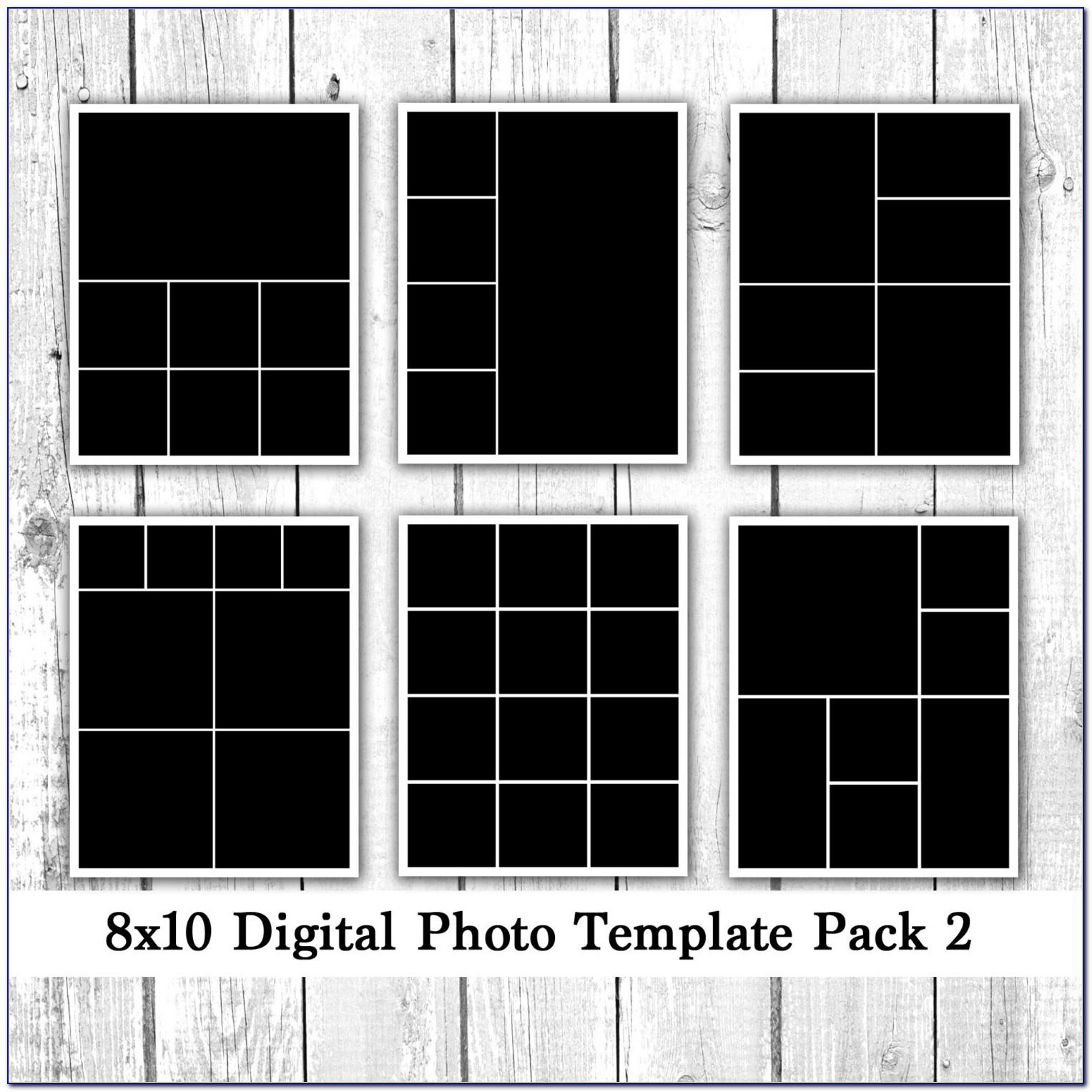 8x10 Picture Collage Template