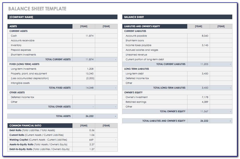 Account Receivable Reconciliation Template Excel