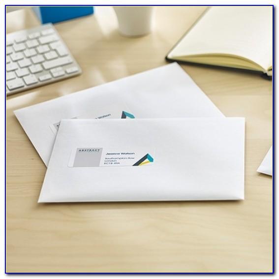 Address Labels For Envelopes Template