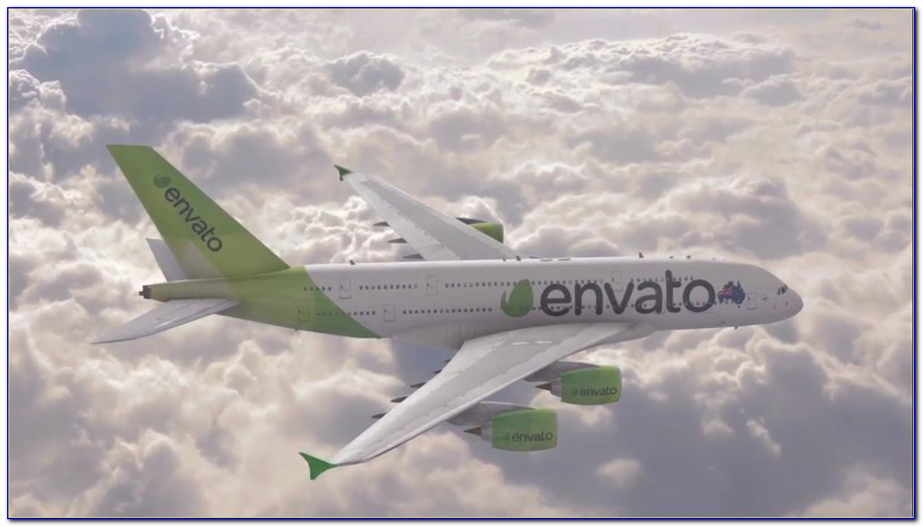 After Effects Airplane Template
