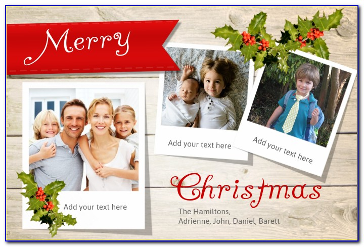 Apple Pages Christmas Newsletter Template