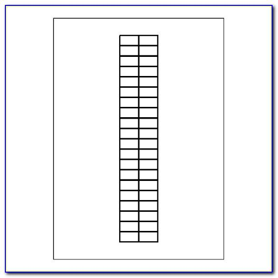 Avery 10 Tab Divider Ready Index Template