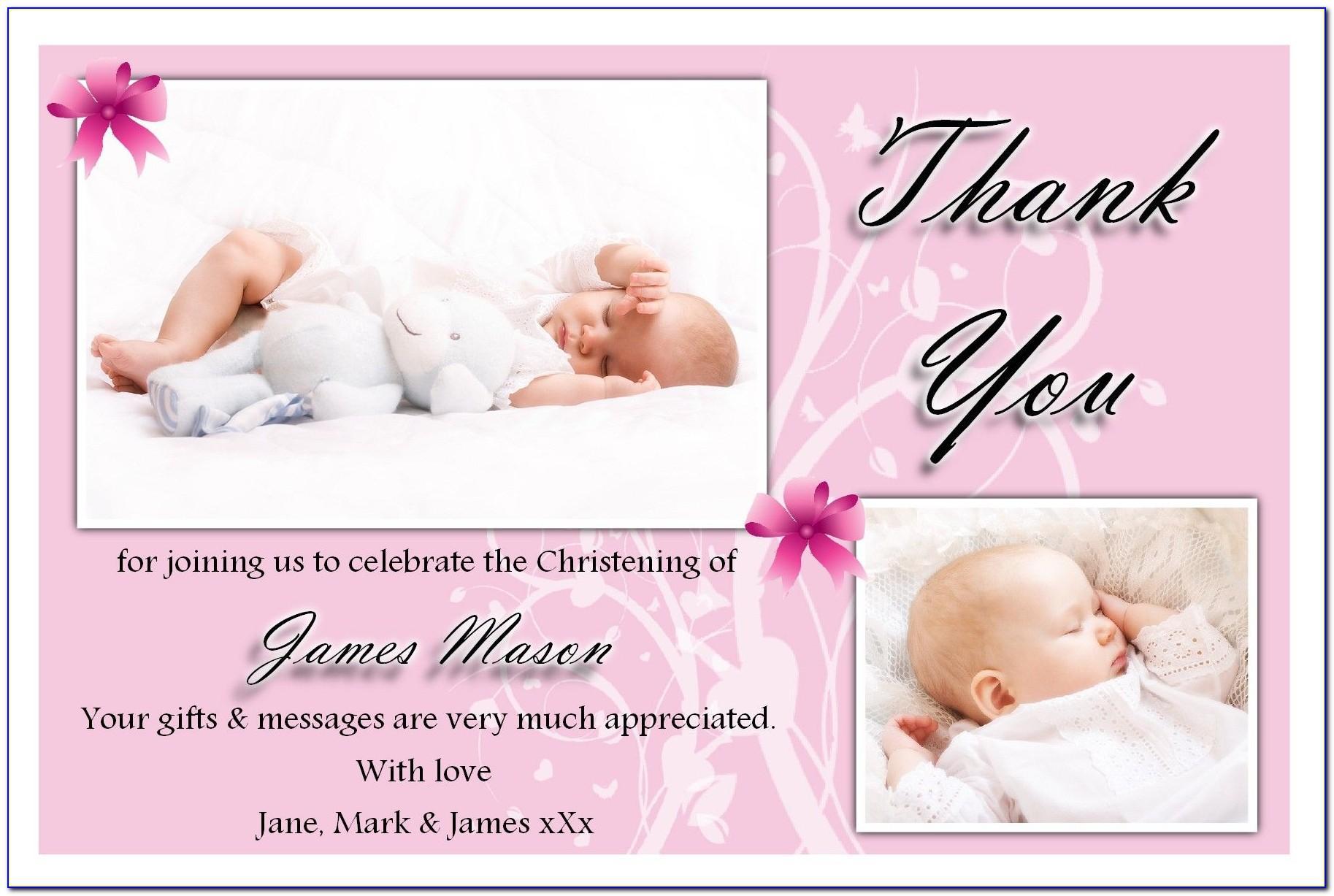 Baby Baptism Photo Templates