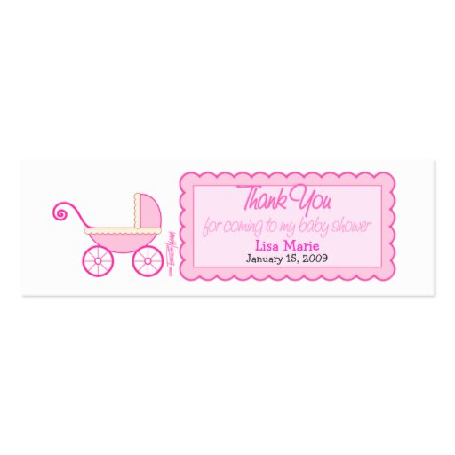 Baby Shower Favor Templates Free