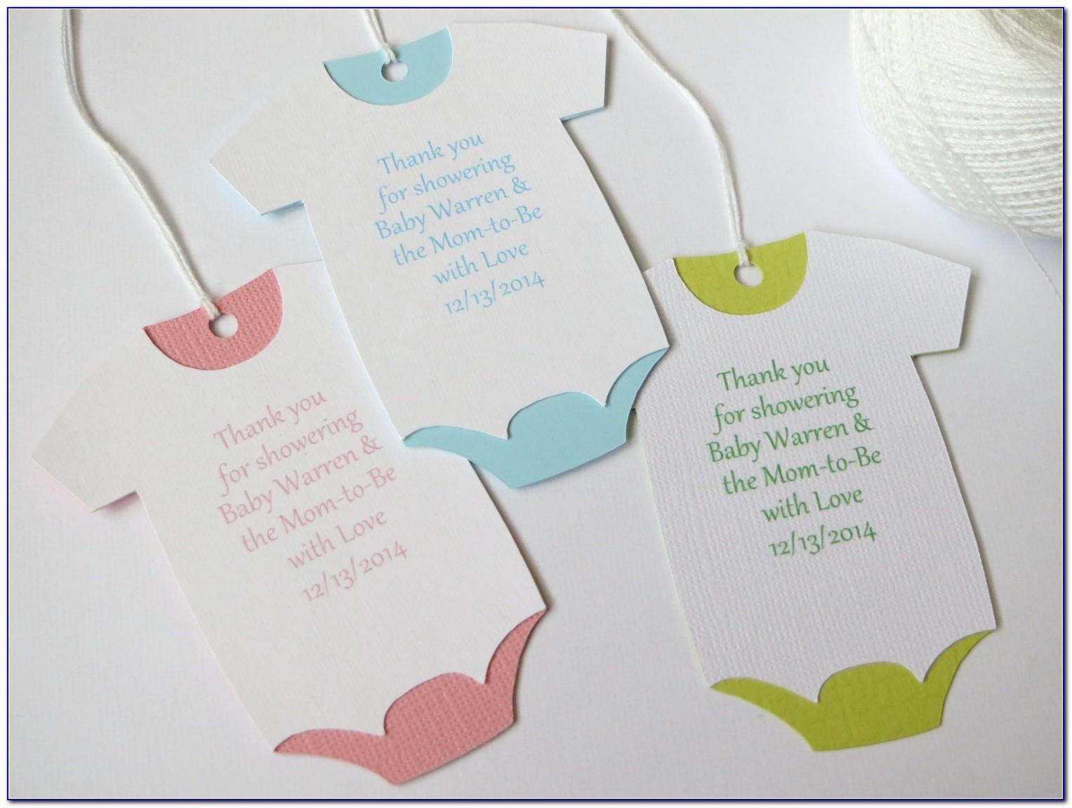Baby Shower Gift Tag Template Word
