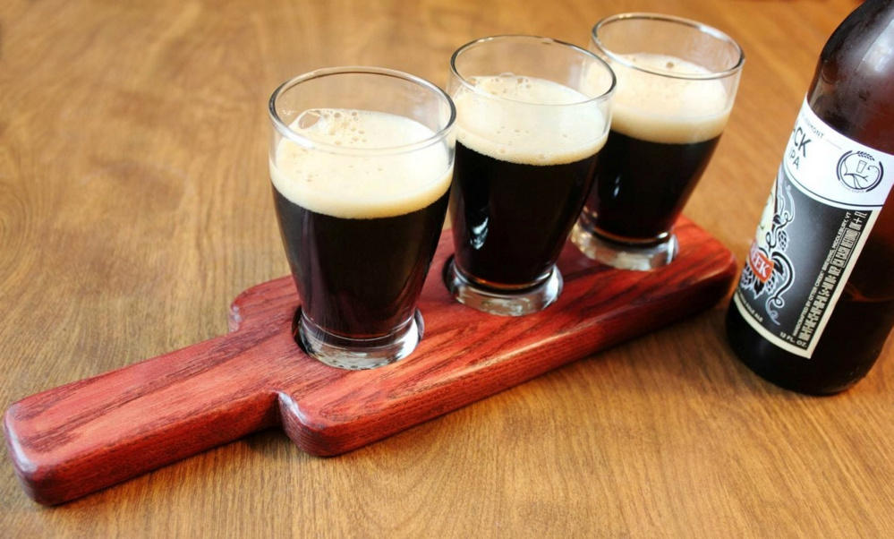 Beer Flight Paddles Template