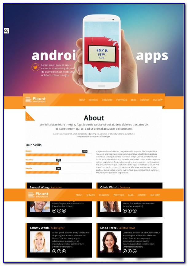 Best Parallax Website Templates Free Download