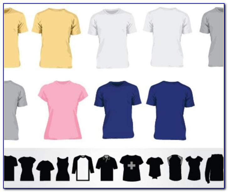 Black Polo T Shirt Template Vector Free Download