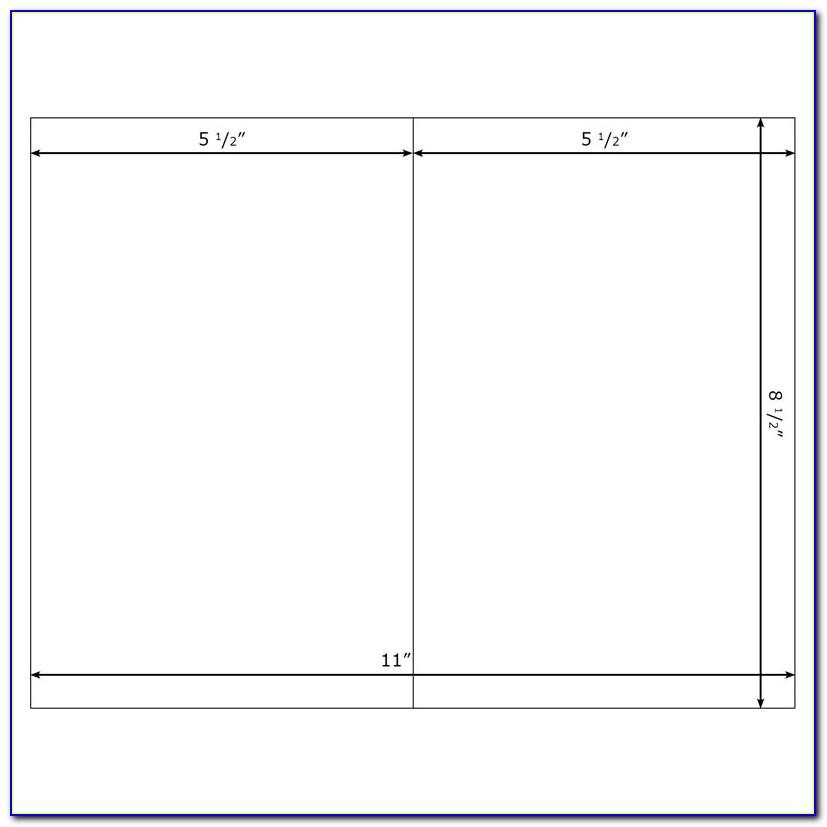 Blank Note Card Template Word