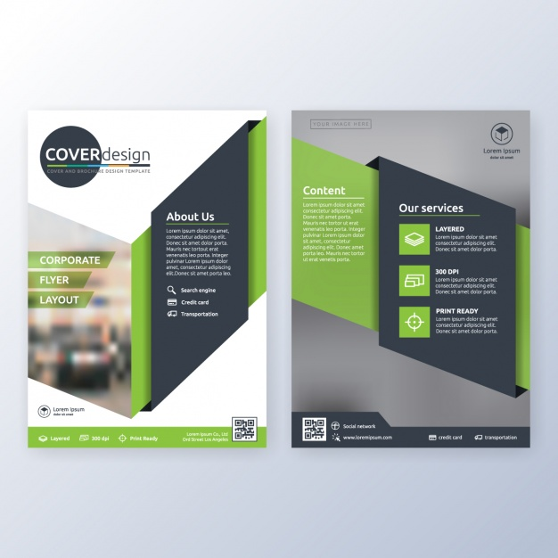 Brochure Design Template Free Download Cdr