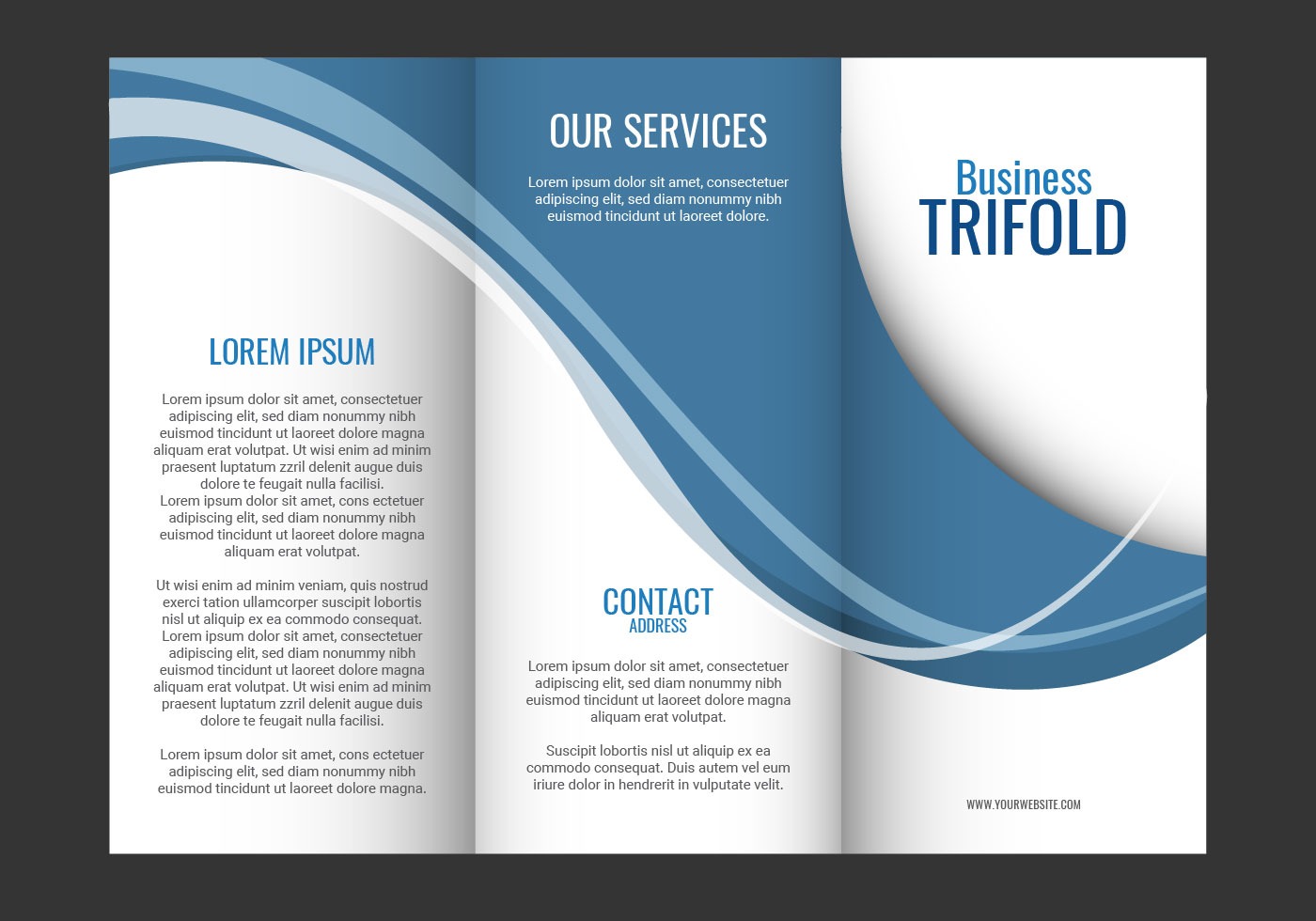 Brochure Design Templates Free Download Microsoft Word