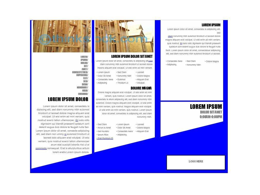 Brochure Design Templates Free Download Vector