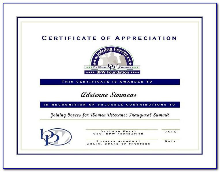 Certificate Of Appreciation For Guest Speaker In Seminar Template