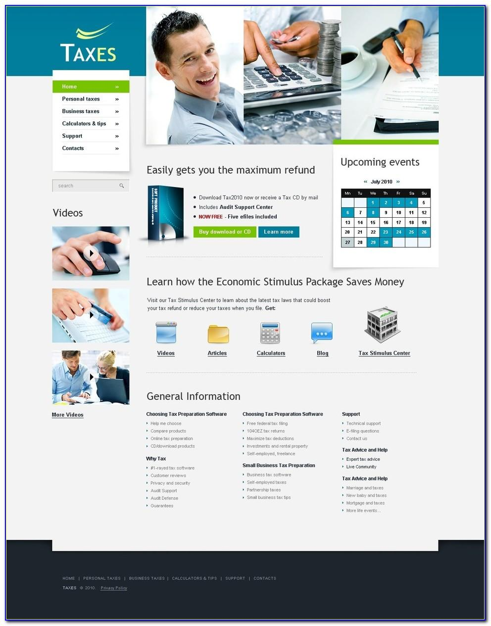 Chartered Accountant Website Templates Free Download