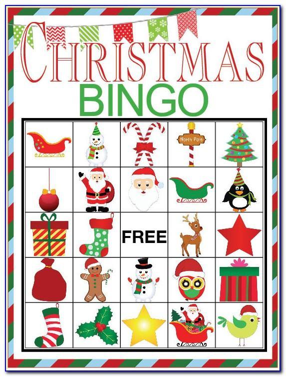 Christmas Bingo Creator