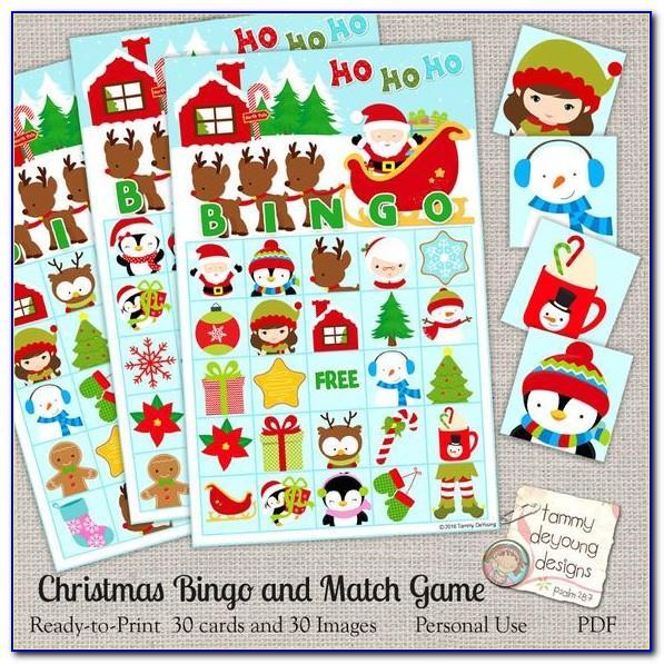 Christmas Bingo Print Off