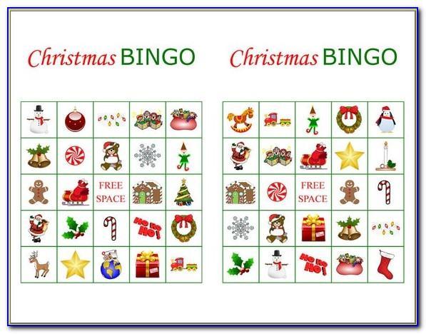 Christmas Bingo Printables