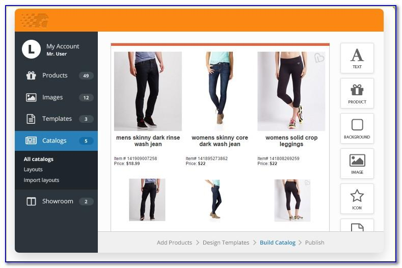 Clothing Line Sheet Example