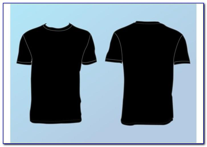 Collar T Shirt Template Vector Free Download
