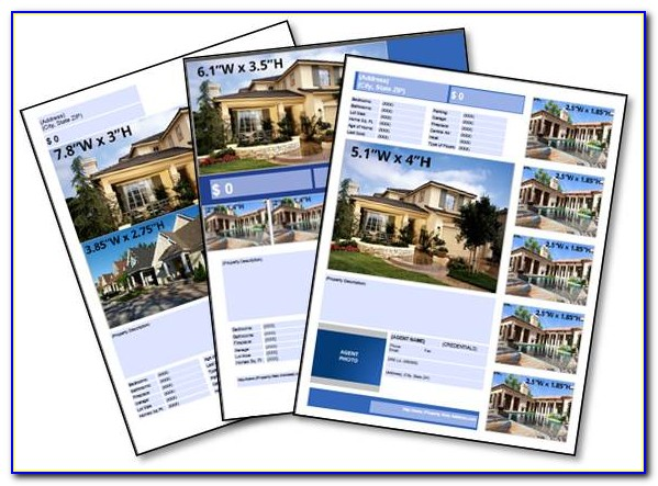 Commercial Real Estate Flyer Templates Free
