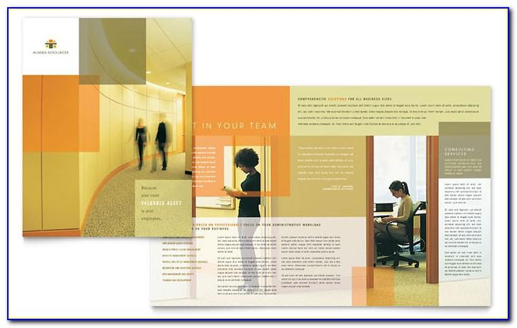 Consulting Company Brochure Template