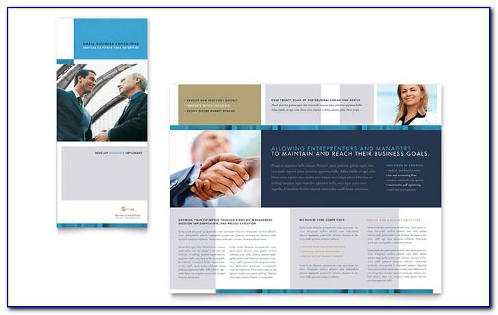 Consulting Firm Brochure Template