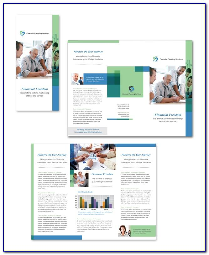 Consulting Services Brochure Template