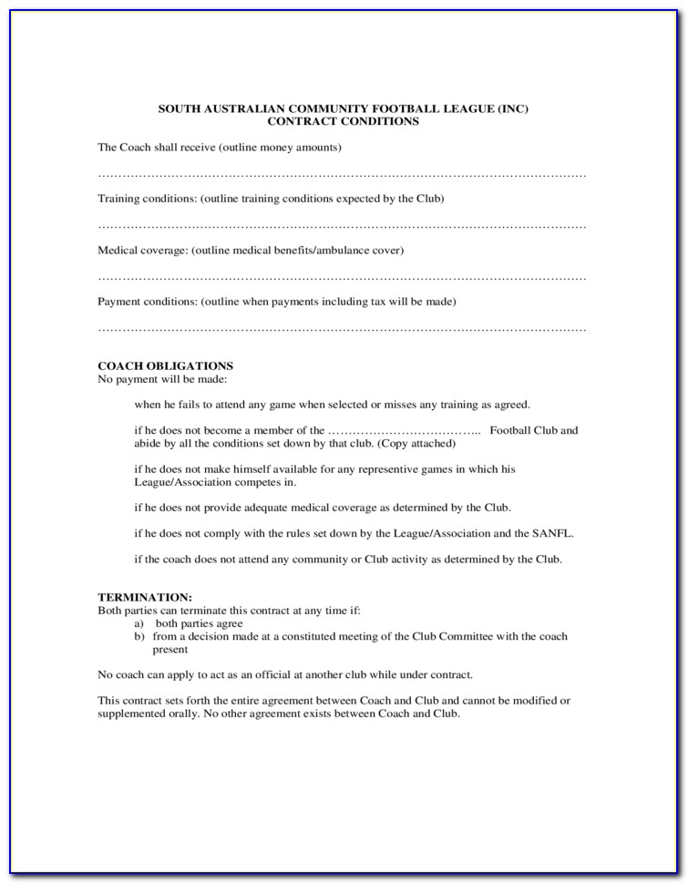 Contracting Agreement Template Uk
