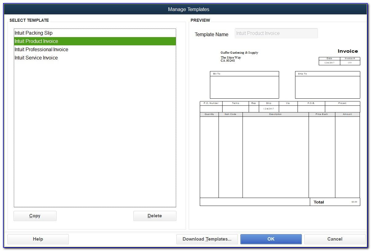 Custom Fields Invoice Quickbooks Online