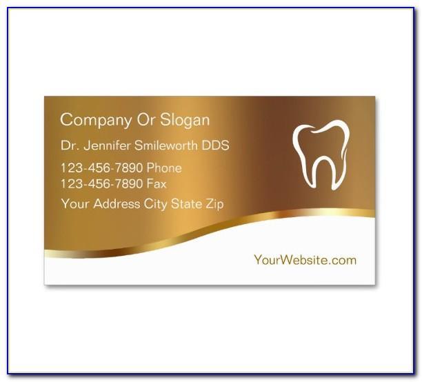 Dentist Business Card Psd Free