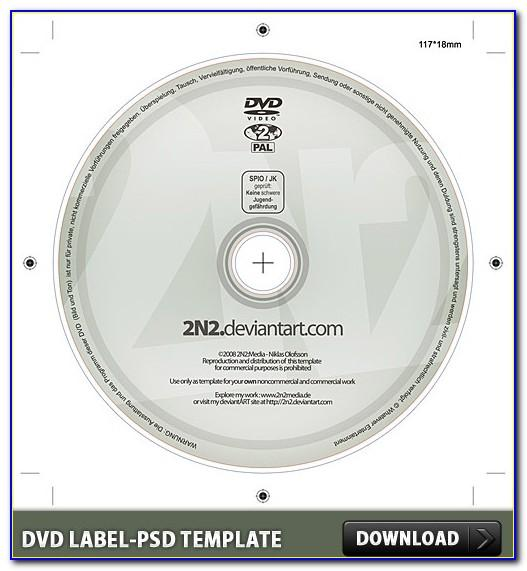 Dvd Label Template Psd Free Download