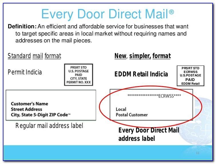 Eddm Design Template