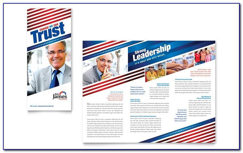 Election Brochure Templates