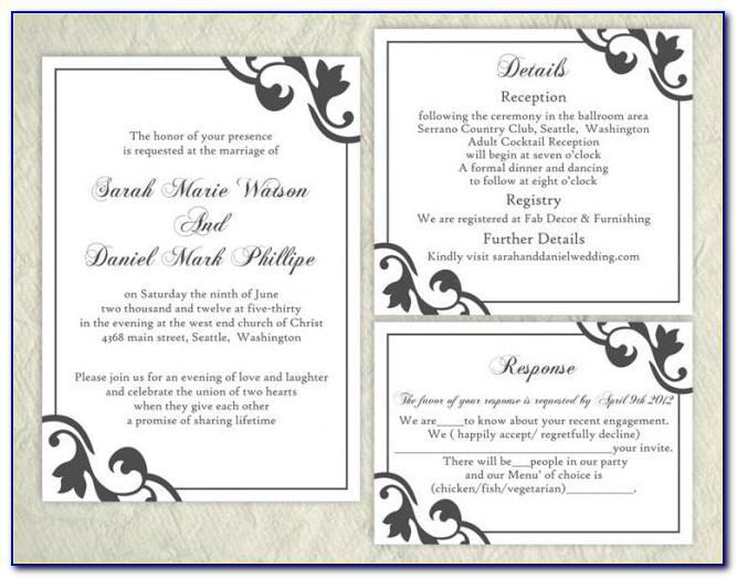 Elegant Invitation Wording Samples