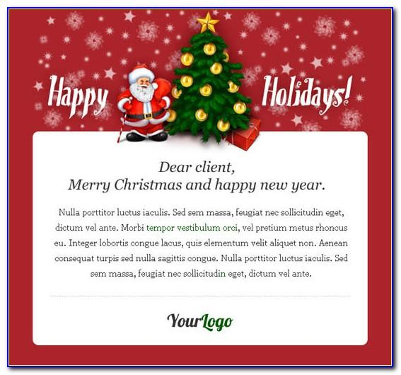 Email Xmas Cards Templates