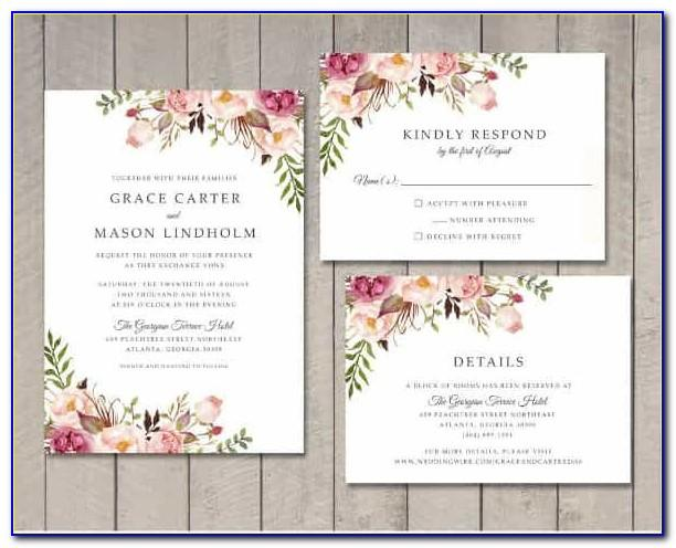 Engagement Invitation Card Template Png